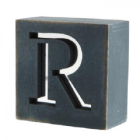 Mirror Mirror - Wooden Letter Blocks
